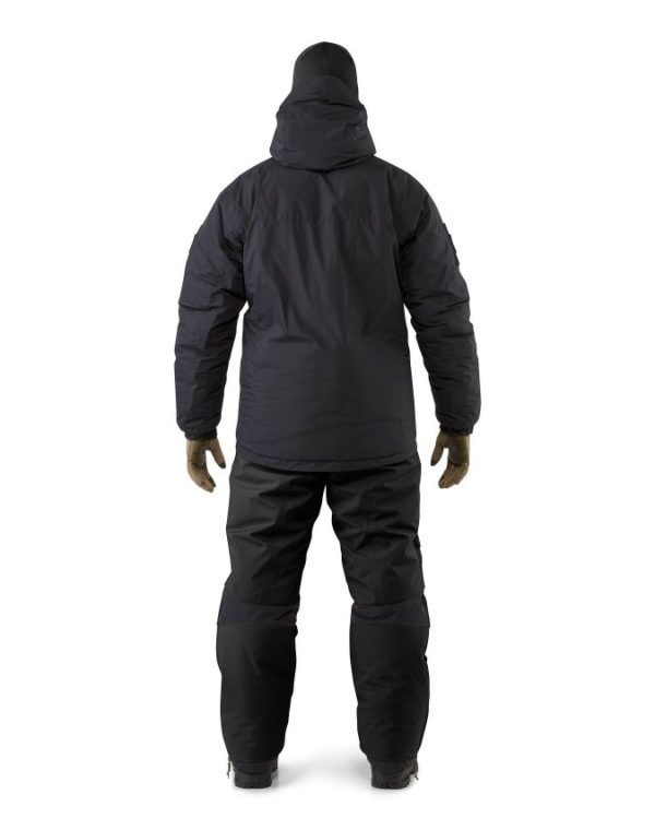 LEAF_Program_ARCTERYX_Cold_WX_Jacket_SV_Black_Jacket_And_Pant_Combination_Back_View
