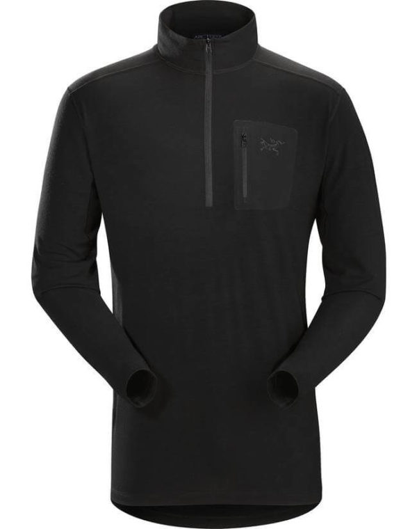 Leaf_Program-Arcteryx-Cold-WX-Zip-Neck-AR---Wool-Black
