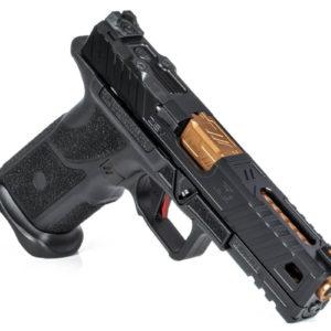 LEAF_Program_Zevtechnologies_OZ9_Pistol_Standard_Black_slide_Bronze_Barrel
