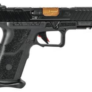 LEAF_Program_Zevtechnologies_OZ9_Pistol_Standard_Black_slide_Bronze_Barrel_Side_view