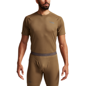 Millbrook_LEAF_Program_SITKA_SOF_10065_CY_Mens_Core_Lightweight_Crew_SS_Coyote_Front