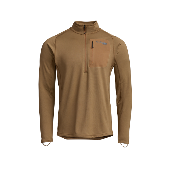 Millbrook_LEAF_Program_SITKA_SOF_10068_CY_Mens_Core_Midweight_Zip_T_Coyote