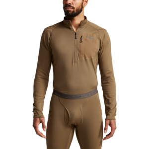 Millbrook_LEAF_Program_SITKA_SOF_10068_CY_Mens_Core_Midweight_Zip_T_Coyote_Front