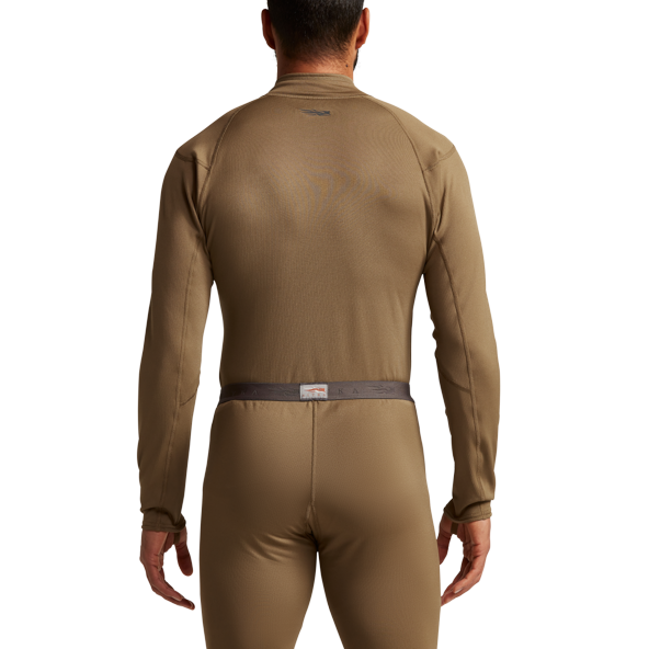 Millbrook_LEAF_Program_SITKA_SOF_10068_CY_Mens_Core_Midweight_Zip_T_Coyote_Front_Back